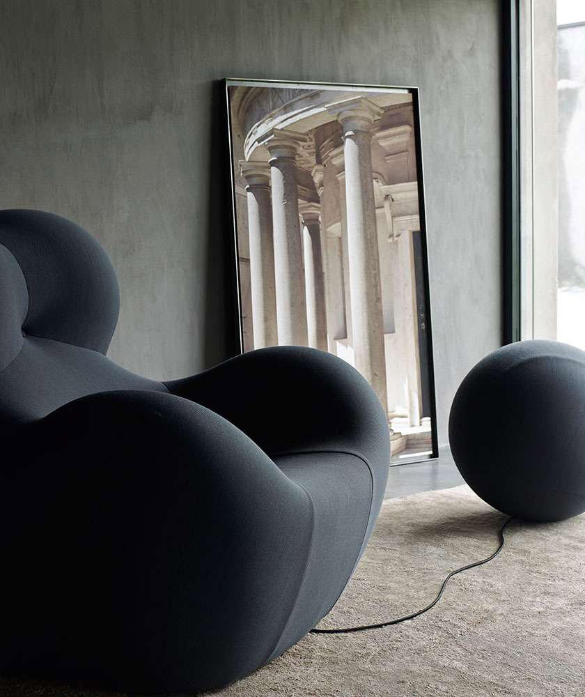 squarcina b b italia poltrona up squarcina. Black Bedroom Furniture Sets. Home Design Ideas