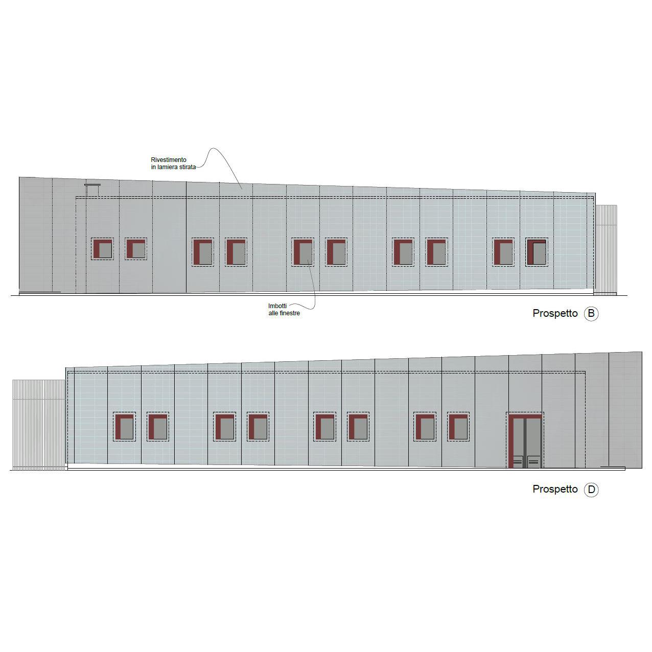 Super Squarcina | Restyling di un capannone industriale - Squarcina NZ61