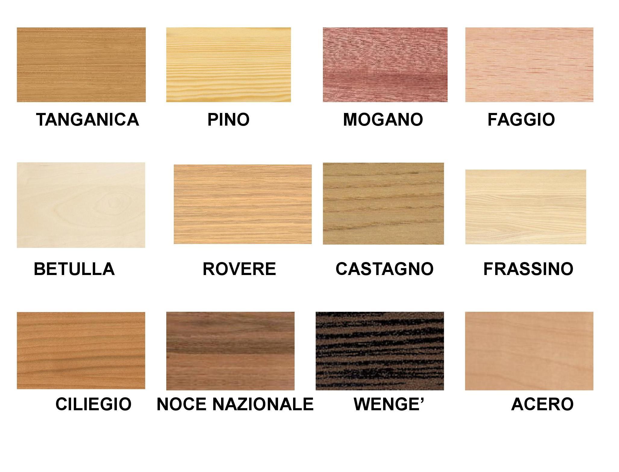 Squarcina essenze e guarnizioni squarcina - Colori mobili legno ...
