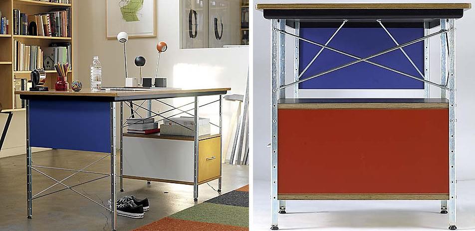 Squarcina vitra eames desk unit edu squarcina for Vitra home desk replica