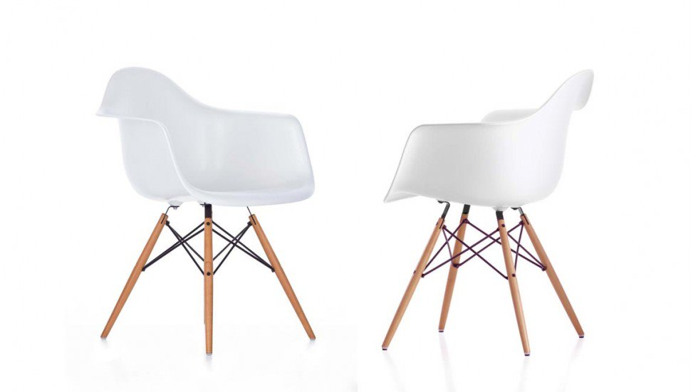 squarcina vitra eames plastic chair daw squarcina. Black Bedroom Furniture Sets. Home Design Ideas