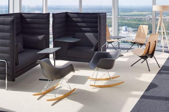 Sedia A Dondolo Rar Eames : Squarcina vitra eames plastic chair rar squarcina